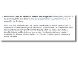 Windows 7 Varianten