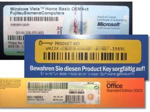 prodcut key