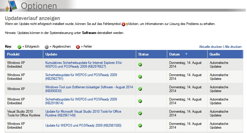 Windows xp sechs frische updates zum patchday - Visual studio tools for office runtime ...