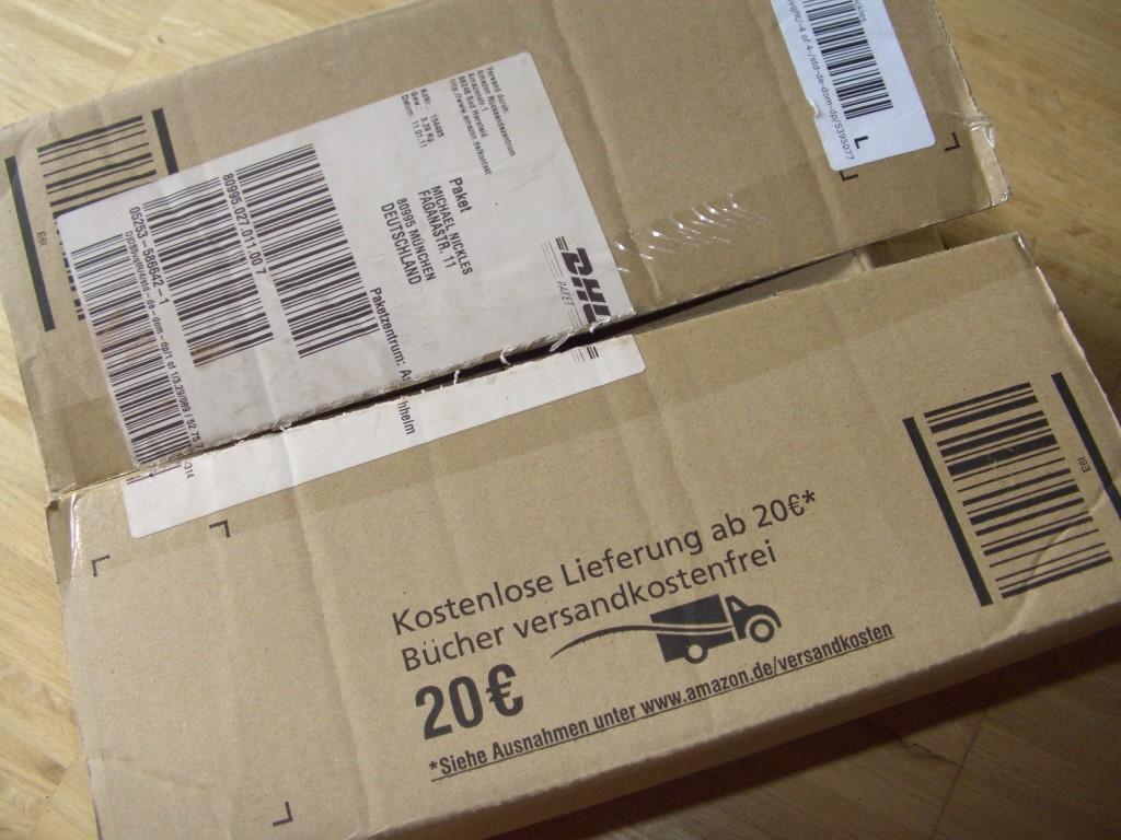 Amazon bestellung paket leer