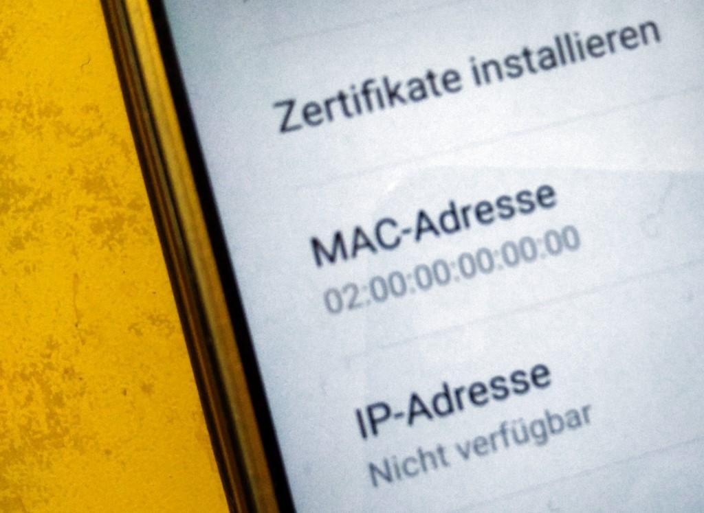 Android-Problem MAC-Adresse 02:00:00:00:00:00 - wenn WLAN und ...