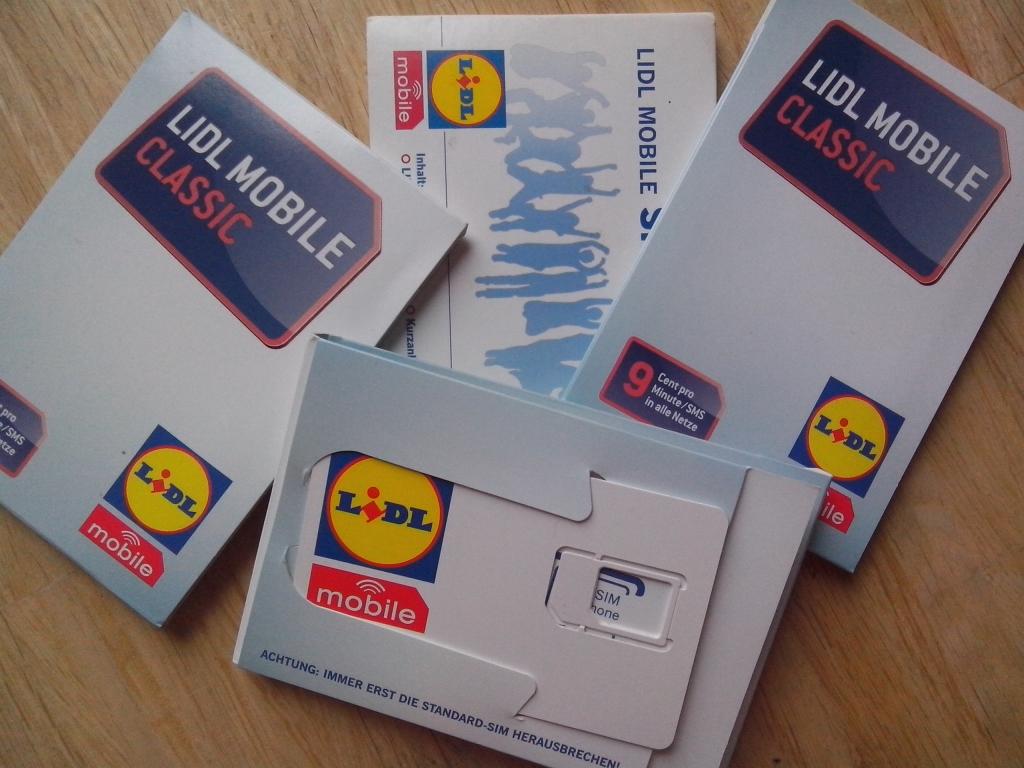 lidl prepaid karte Lidl Mobile Intensivtest   20 Euro Guthaben für 5 Euro abchecken