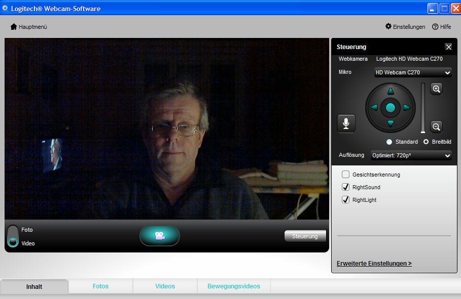 Logicool webcam software
