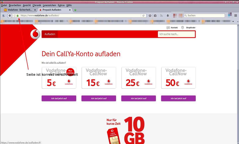 Vodafone Aufladen Mit Paypal