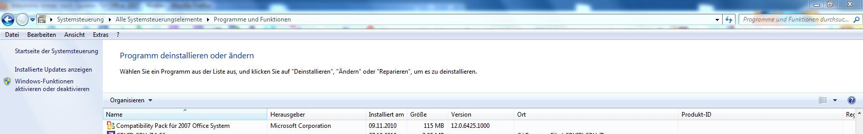 Bekomme immer noch updates f t office 2007 - Office compatibility pack for office 2007 ...