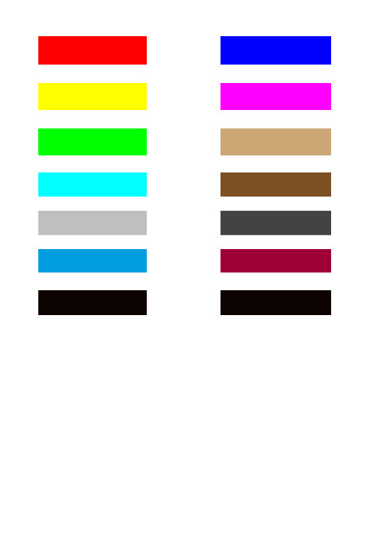 Ausgezeichnet Farbtestseite Für Drucker Galerie ...