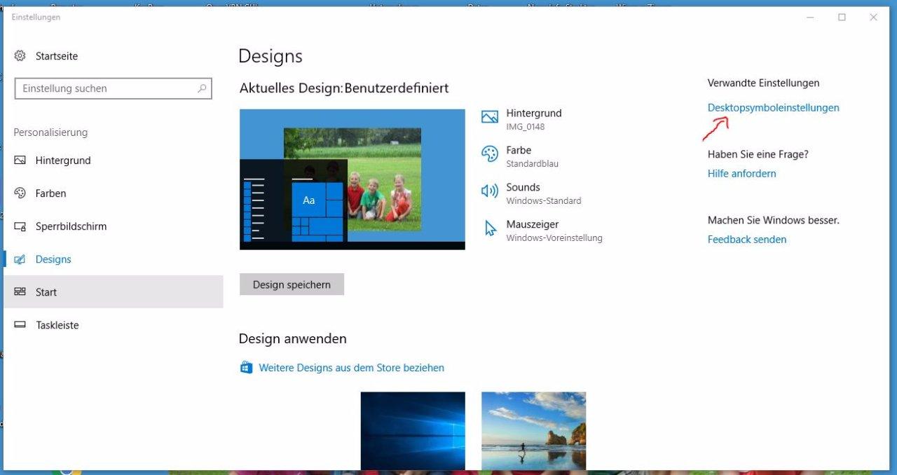 desktop wiederherstellen windows 7
